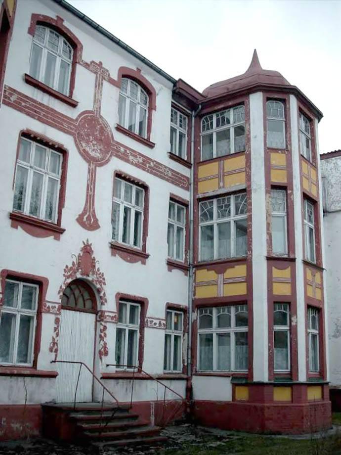 Бывший доходной дом Фридриха Баста и пансион «Цаморы»